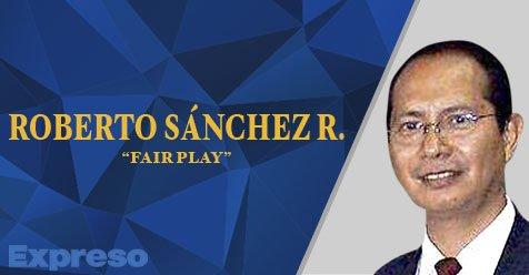 Fair Play Roberto Sánchez Frases Gareca Columna Fair Play