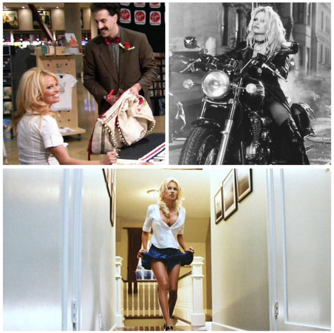 Happy 50th birthday to Pamela Anderson! In film: