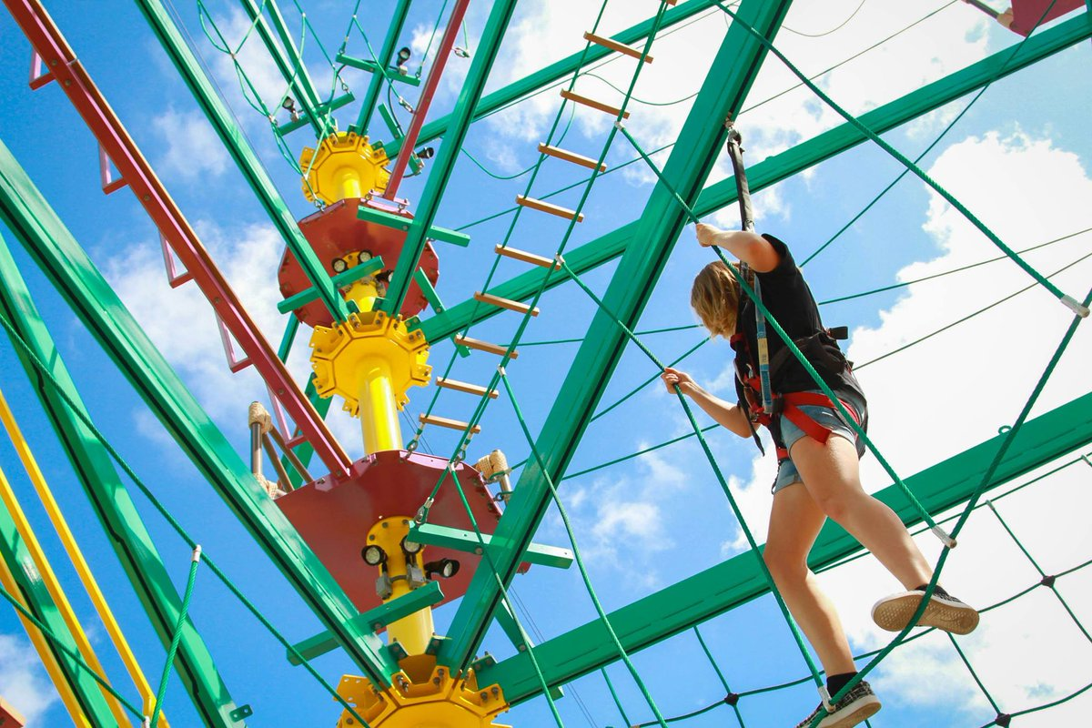 Ropes Courses Inc On Twitter Quot Blue Skies In Galveston
