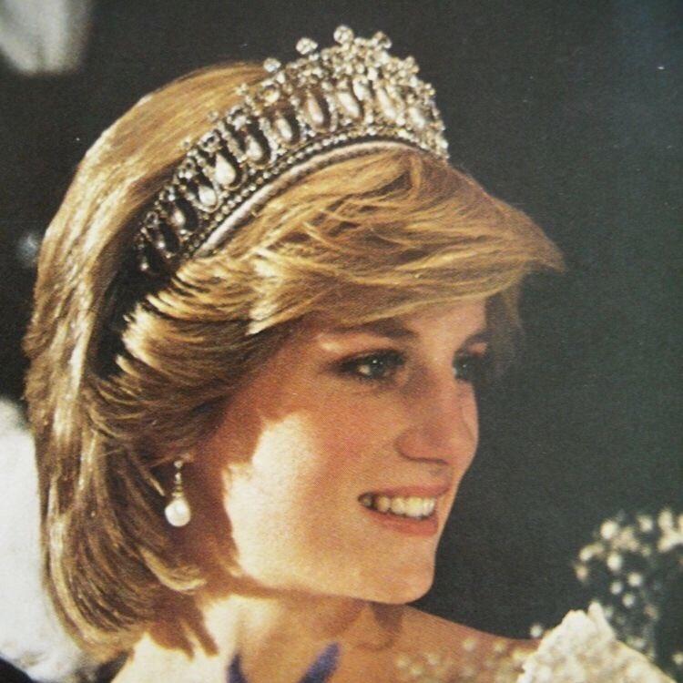 Happy Birthday to Princess Diana, her smile was beautiful