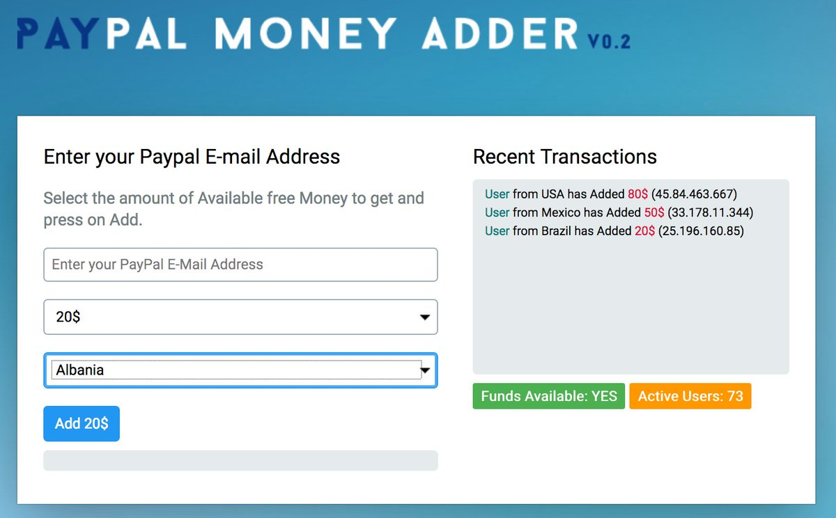 guido not cissp on twitter ppmoncom another fake money adder for paypal