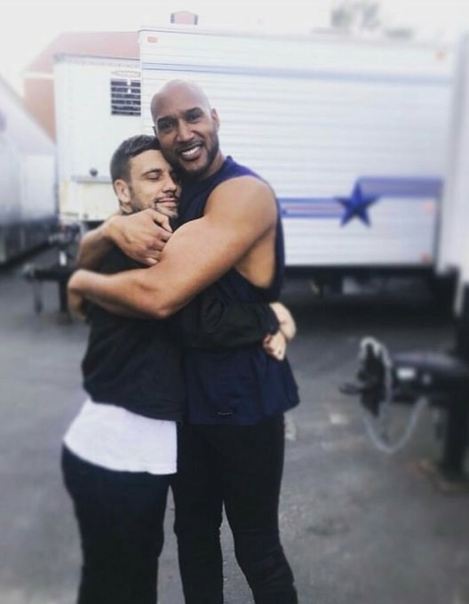 Happy Birthday to Henry Simmons aka Mack. All love and sucess for him and Nick hugging him of course.