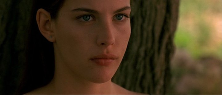 New happy birthday shot What movie is it? 5 min to answer! (5 points) [Liv Tyler, 40]