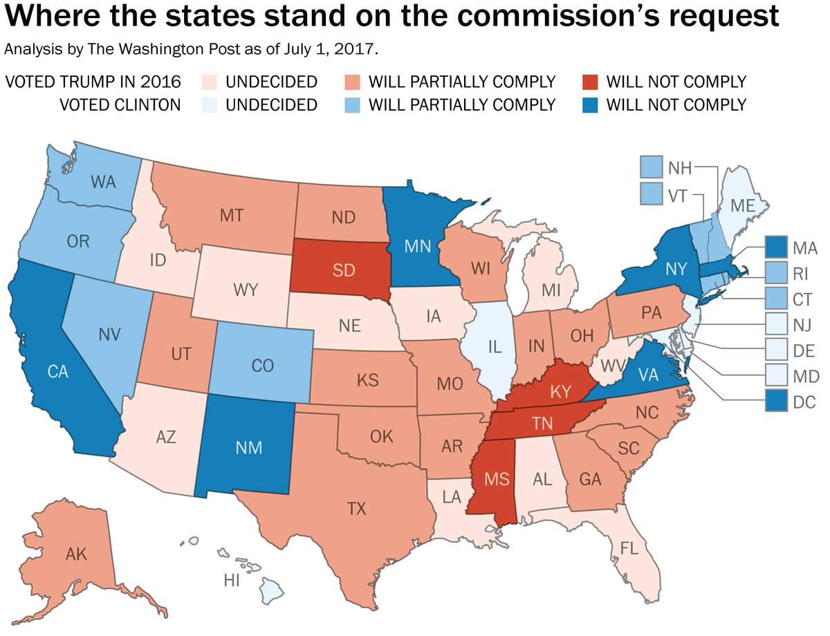 Philip Bump On Twitter Heres The Map Of How States Have - Georgia voting map