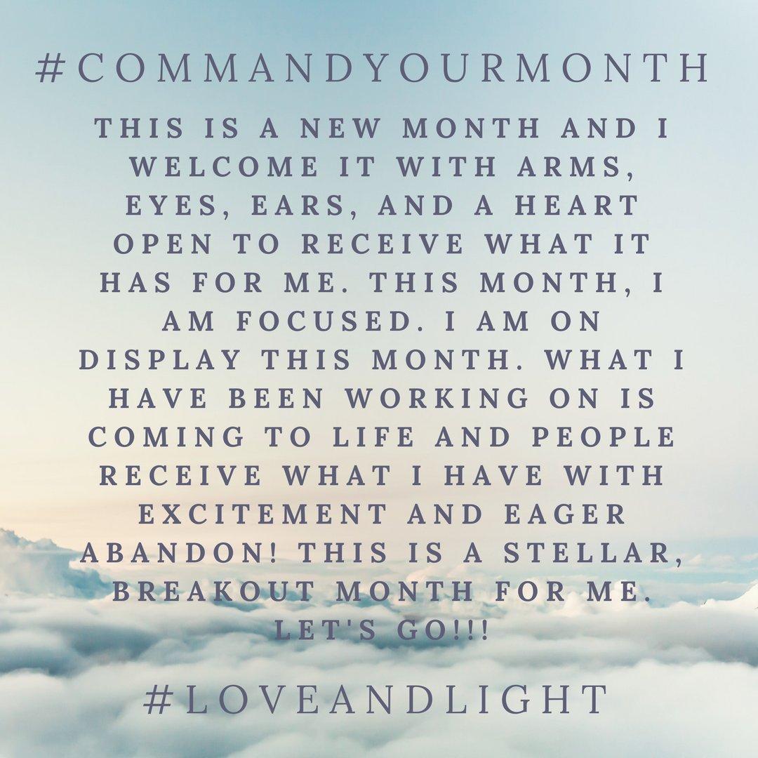commandyourmonth hashtag on Twitter