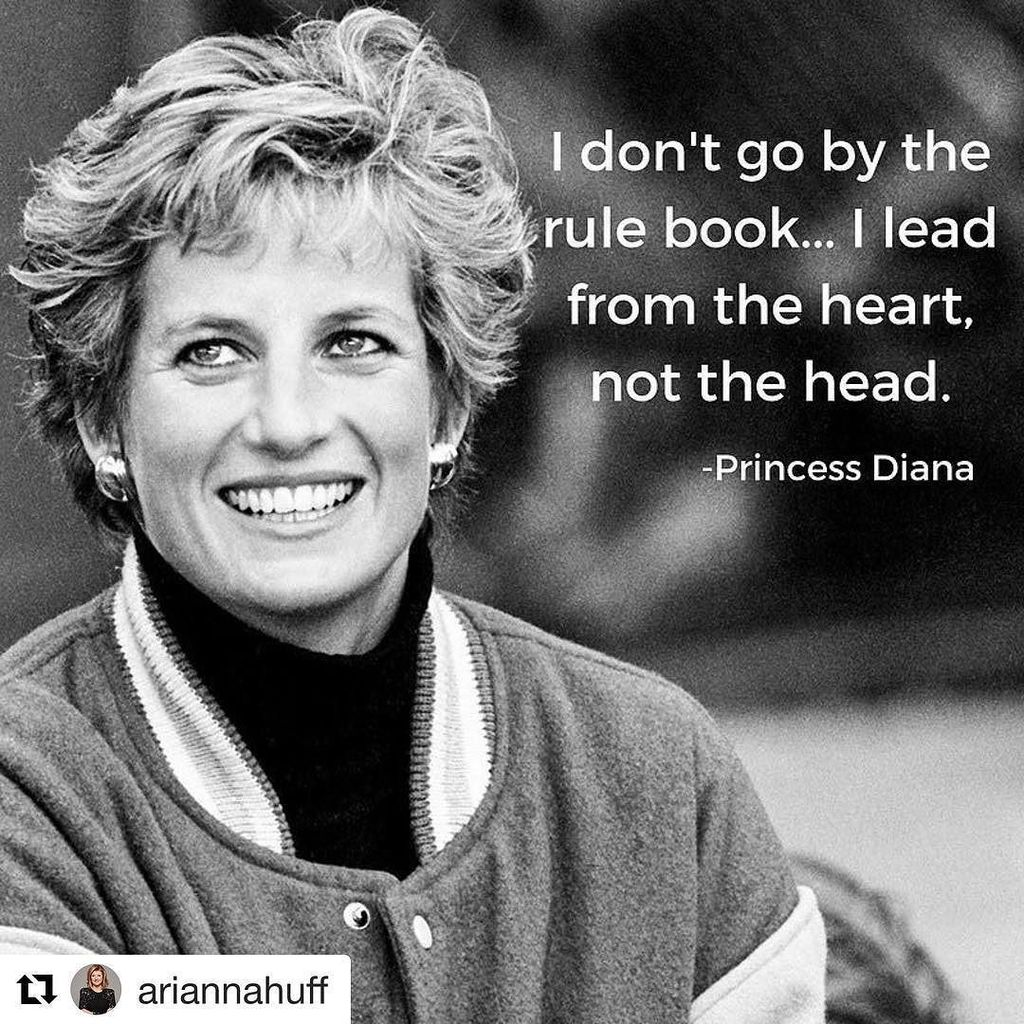 Words to live by  Happy birthday, Princess Diana.