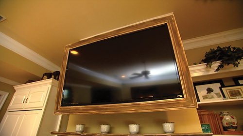 Flat TV Screen Frame