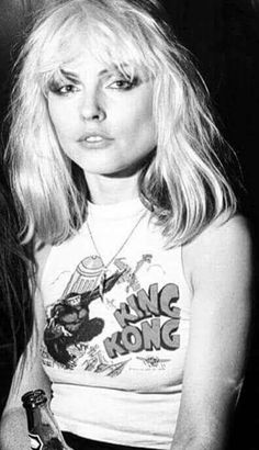 Happy 72nd Birthday to Debbie Harry. God, I loved her back in the day.