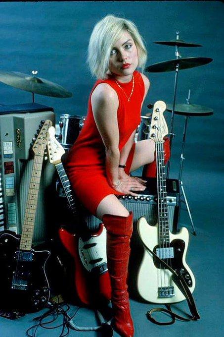Happy birthday to the iconic Debbie Harry
