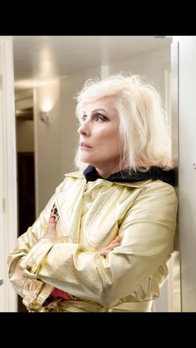 Wishing Debbie Harry a very Happy Birthday today!  Lots of love from New Joisey USA!