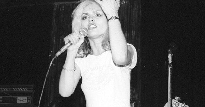 Happy birthday Debbie Harry! Watch Blondie performunreleased...