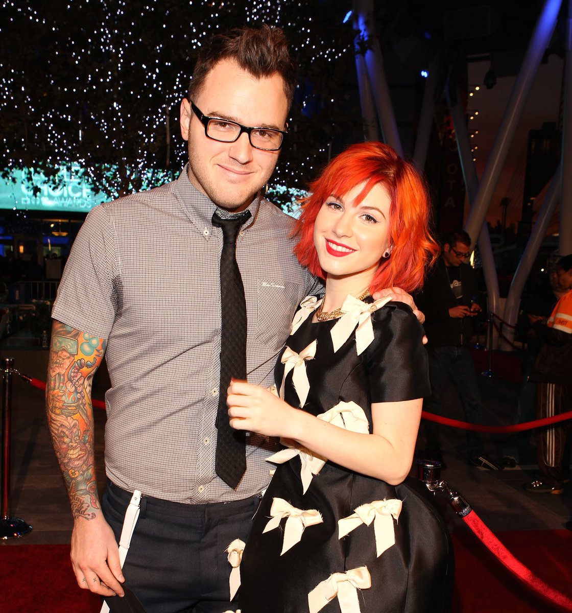 Hayley Williams and Chad Gilbert announced they were separating after a year of marriage and 10 years together