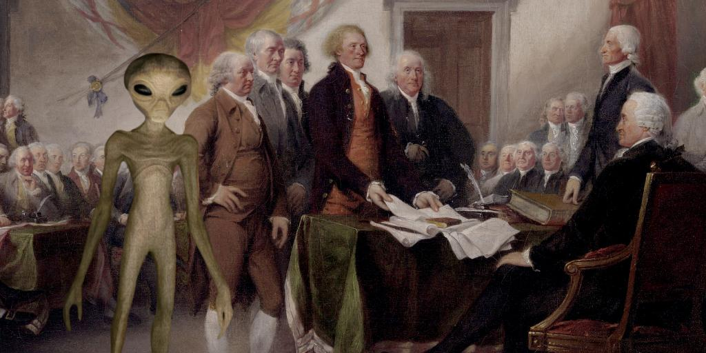 Flashback to the signing of the Declaration of Independence. https://t.co/T8n1W3wLYK