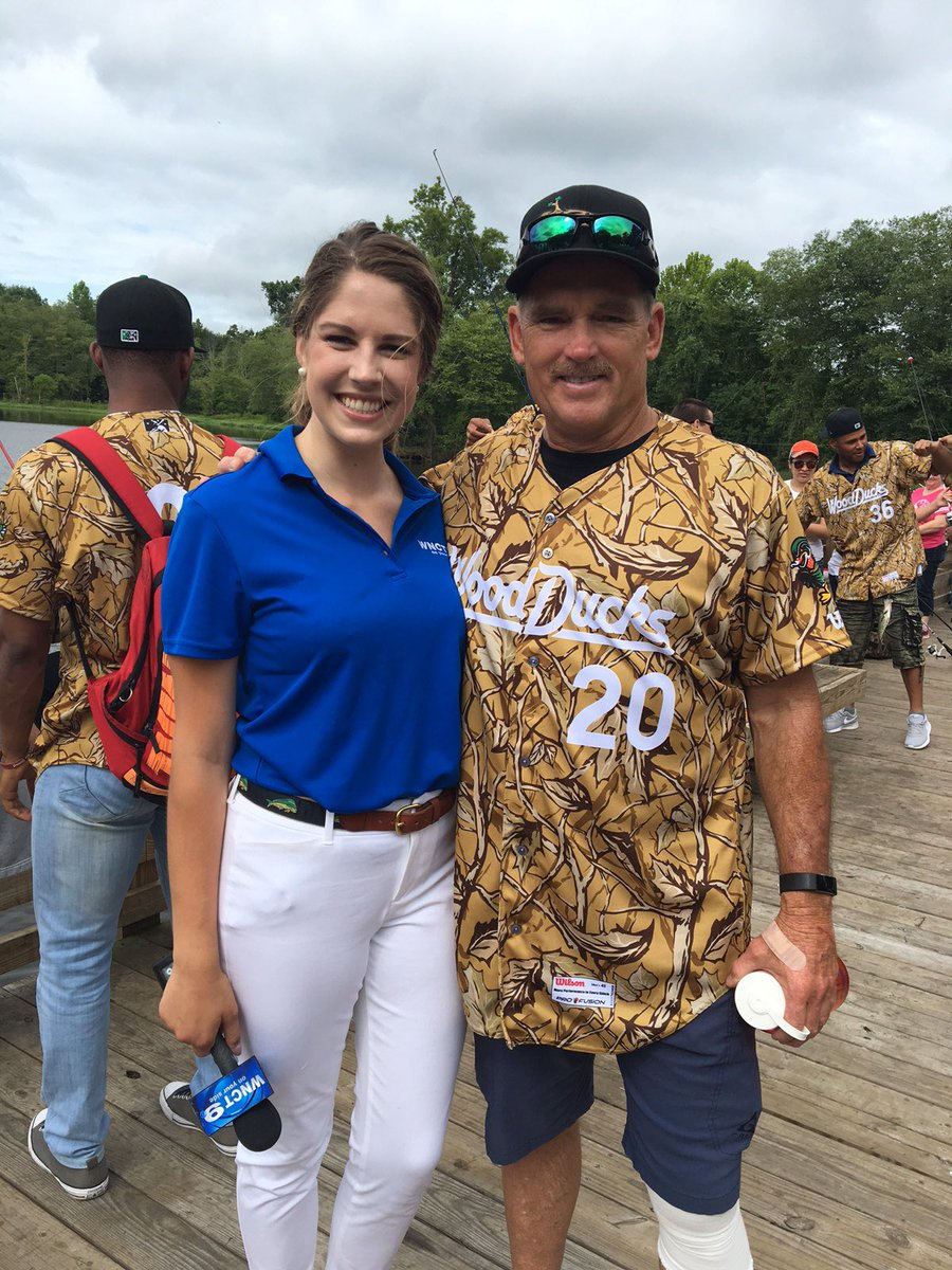 So nice meeting @20Hojo at the #WoodDucks fishing event at Neuseway Nature Park today! (Let&#39;s go #Mets !)  Wish my Dad was in NC today.<br>http://pic.twitter.com/CuPX5WQqXI