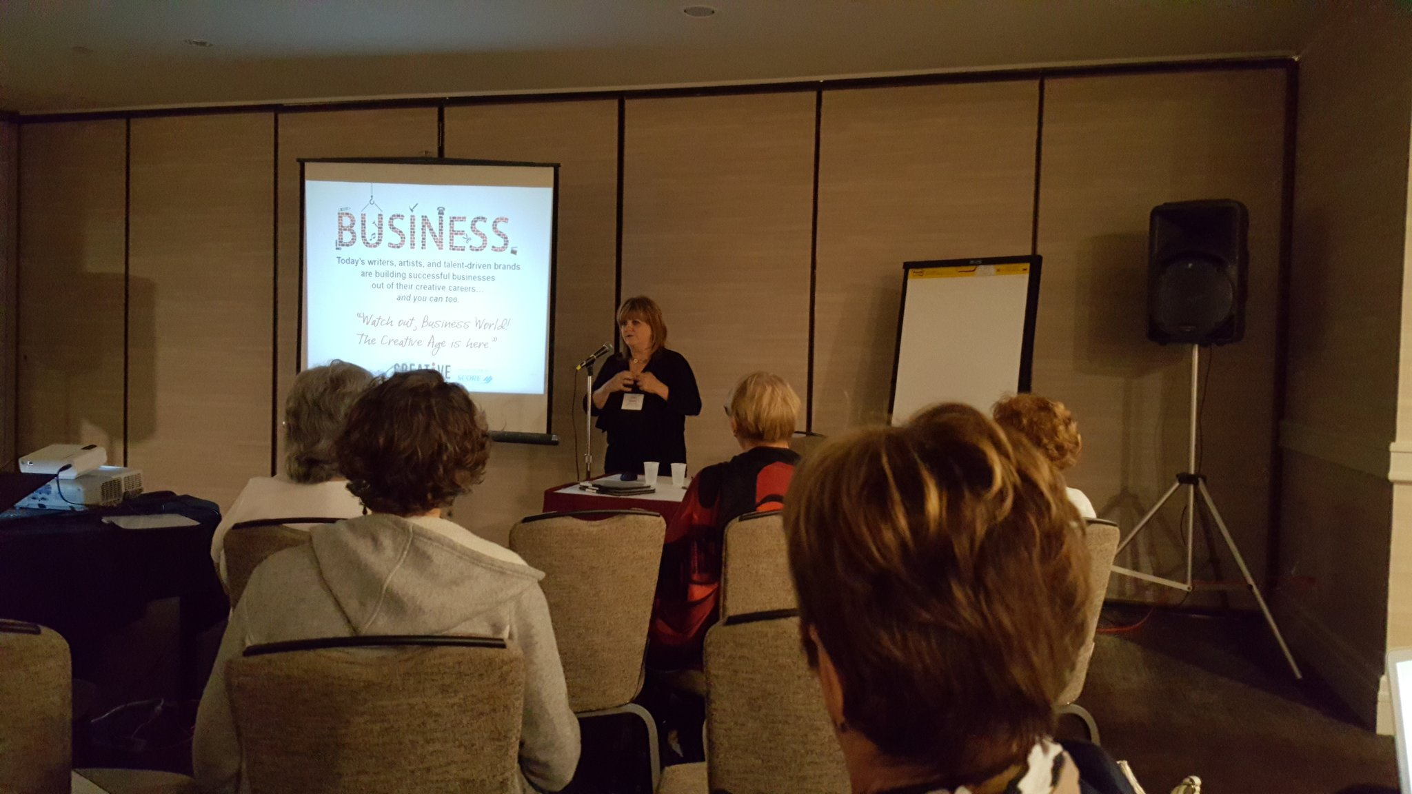 #marketing workshop for crrativez with @RobinBlakely National #storytelling Conference Thanks @NSNstorycon https://t.co/T7jtlOjfDV