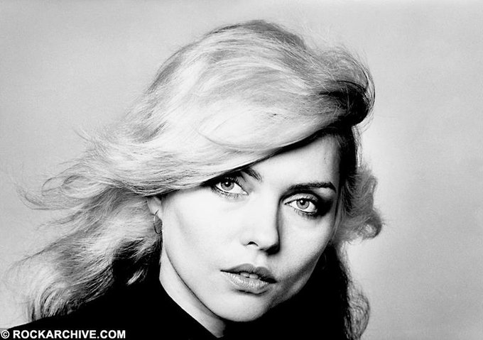 """The only person I really believe in is me.\""  Happy birthday Debbie Harry."