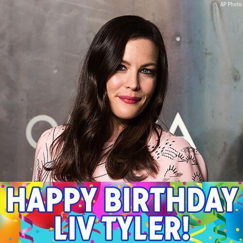 Happy 40th birthday to actress Liv Tyler!