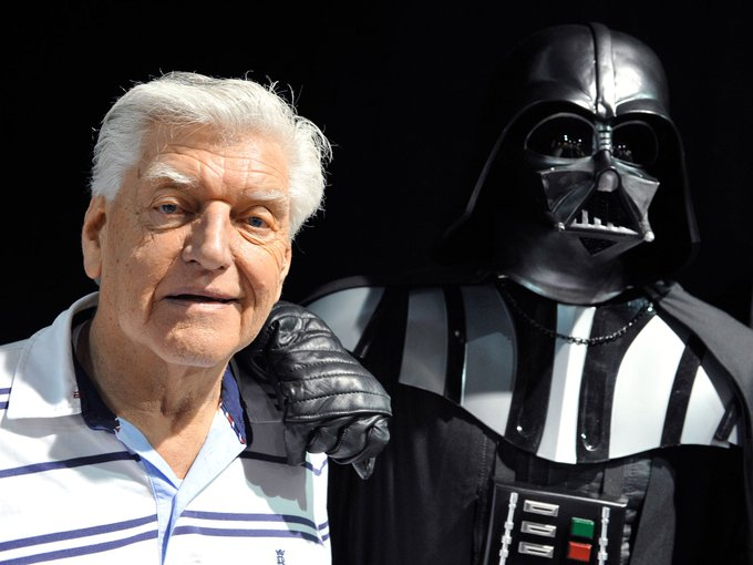 Happy Birthday to Mr. David Prowse (the body of Darth Vader)! May the force be with you