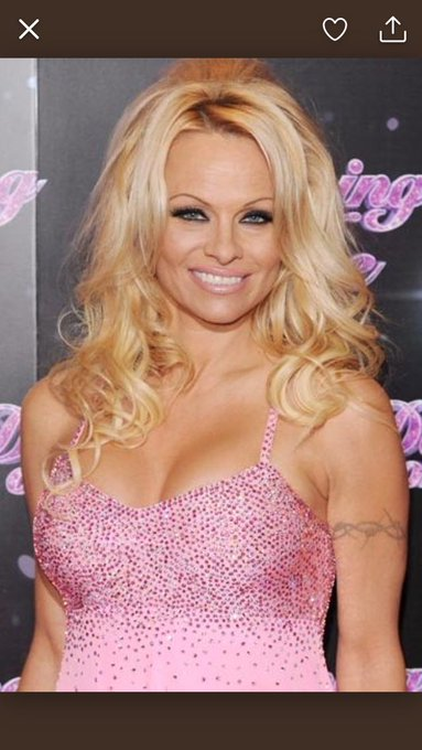 Happy Birthday to Pamela Anderson, 50 today!!!  still looks amazing