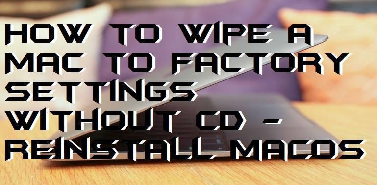 how to wipe a mac