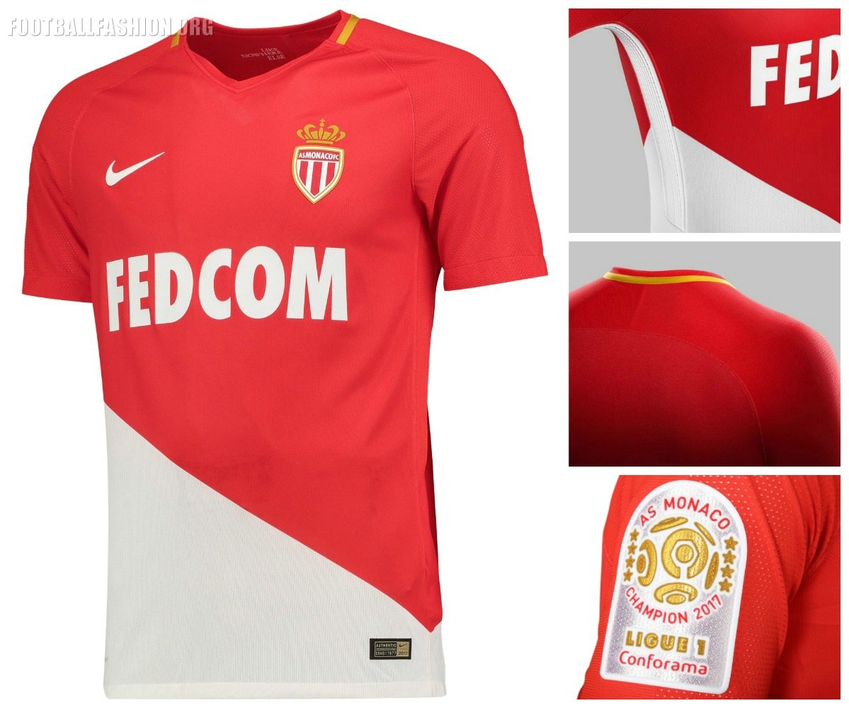 AS Monaco 2017/18 Nike Home Kit -  http:// bit.ly/ASMonaco2017  &nbsp;   #ASMonaco #Ligue1 #Nike #NikeFootball  #ASMonacoChampi8ns #ASM<br>http://pic.twitter.com/EOVzXASeno