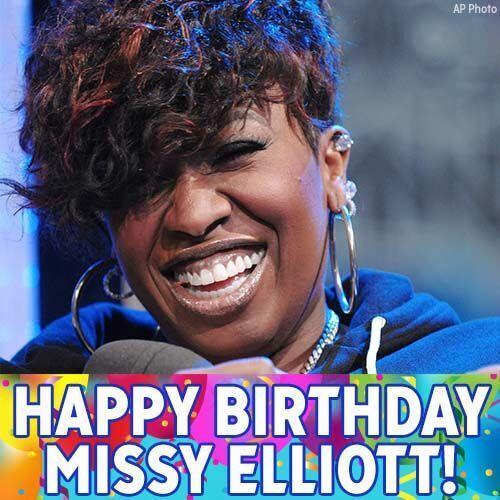 Happy birthday to hip-hop star Missy Elliot!