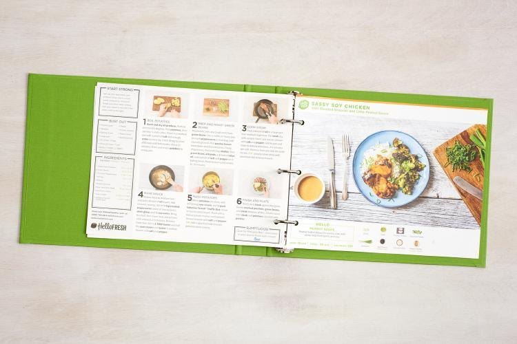 Hello Fresh Recipe Binder - The Facts