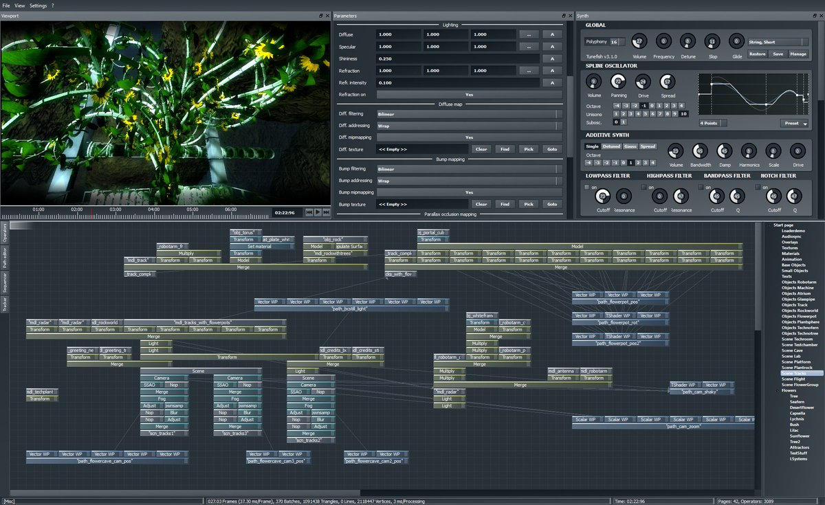 Demotool Gallery - collection of pictures of #demoscene production tools https://t.co/1UZu8NzhKT