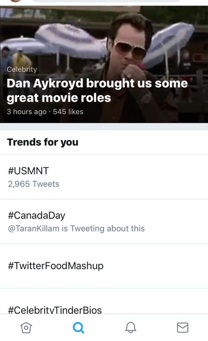 Don\t do this to me I feared the worst.   Happy Birthday Dan Aykroyd!