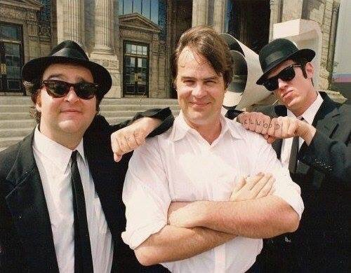 Happy Birthday to Dan Aykroyd! Here\s a little old school picture to celebrate!