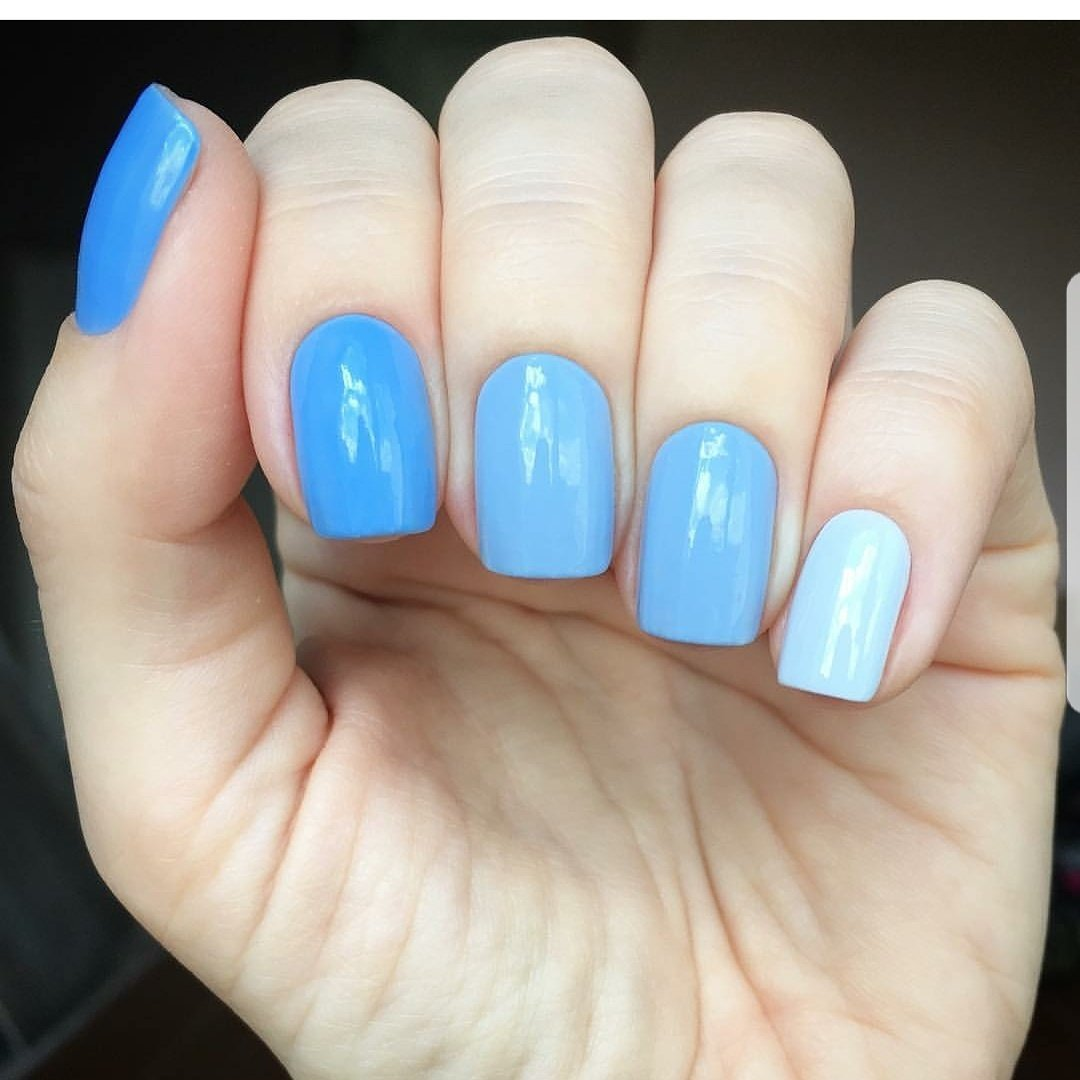 Lacqrd On Twitter When You Cant Decide What Shade Of Blue To Get You Get All Ombre Nailpolishaddict Bluenails Bluenailpolish Manicure Maniinspo Https T Co Sb8v8meg7g