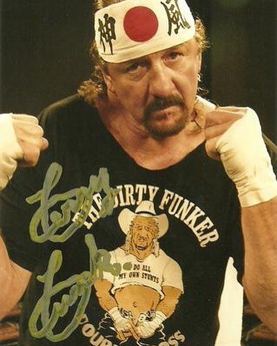 Happy (Belated) Birthday to a wrestling icon, Terry Funk!