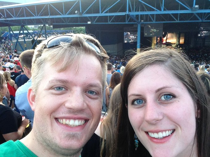 Happy birthday to the futurewife! Zac Brown Band; new experience for this non-country fan.