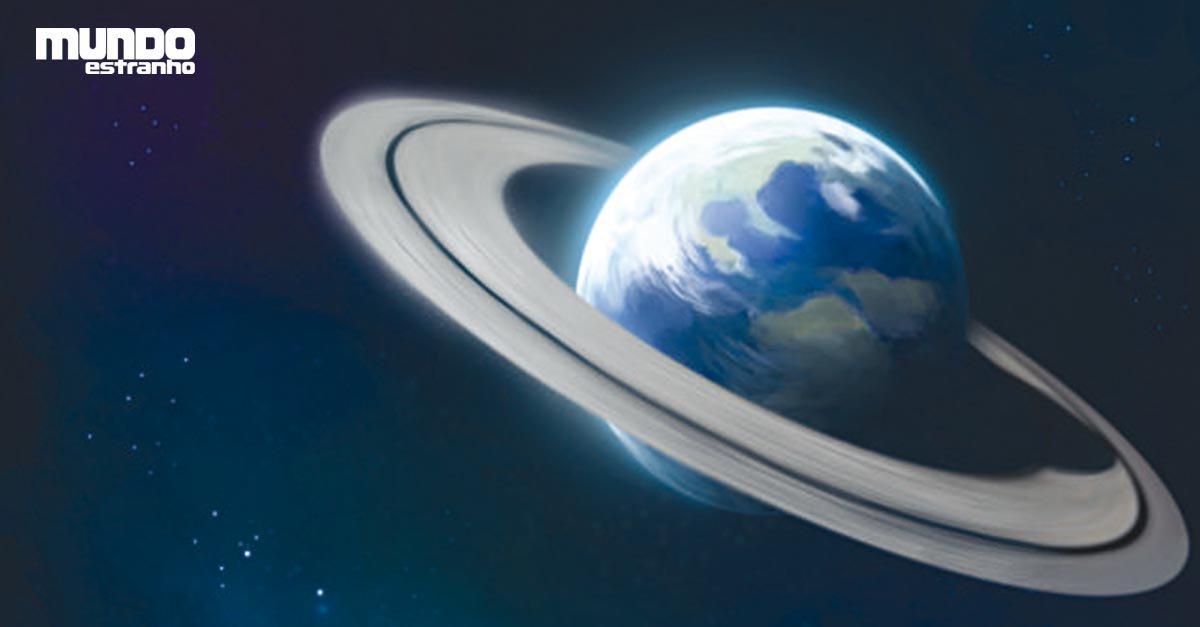 E se a Terra tivesse anéis como Saturno? https://t.co/deLg9gyI5B