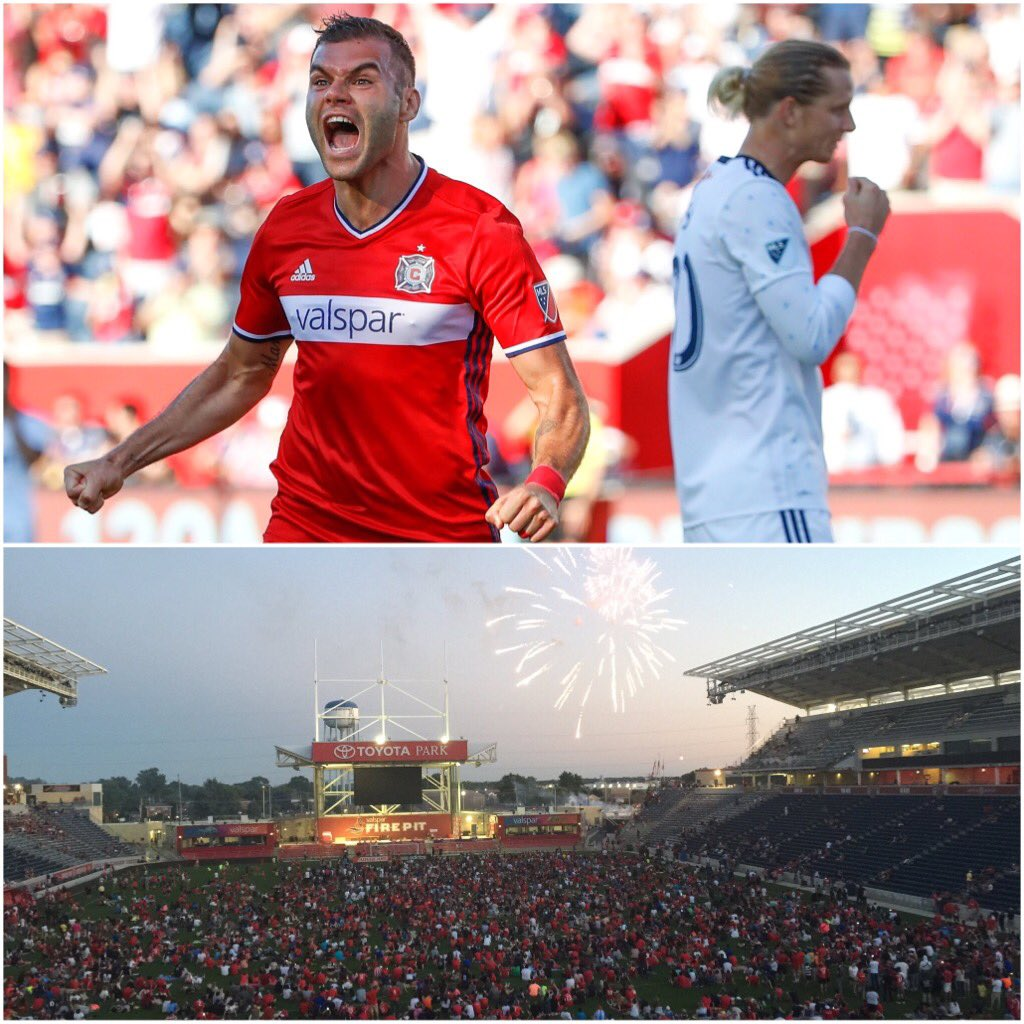 Chicago Fire vs Vancouver Whitecaps Highlights
