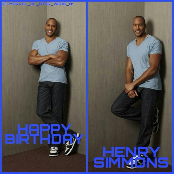 Happy Birthday Henry Simmons