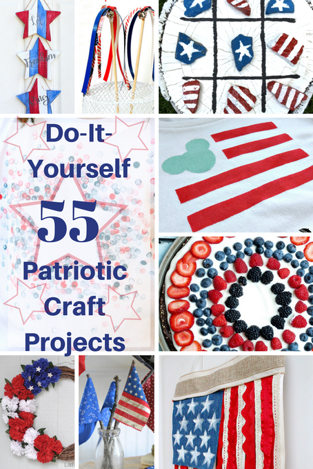Over 55 Patriotic Craft Projects for a Festive Celebration