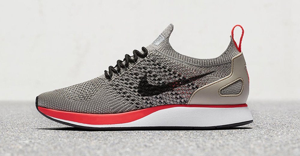 c5f0a43c9d510 nike just released two new colorways of the exciting mariah flyknit racer  silhouette .