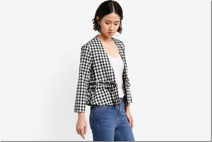 Black And White Gingham Outfit Ideas