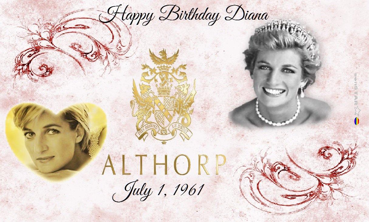 Happy Birthday Princess Diana Spencer