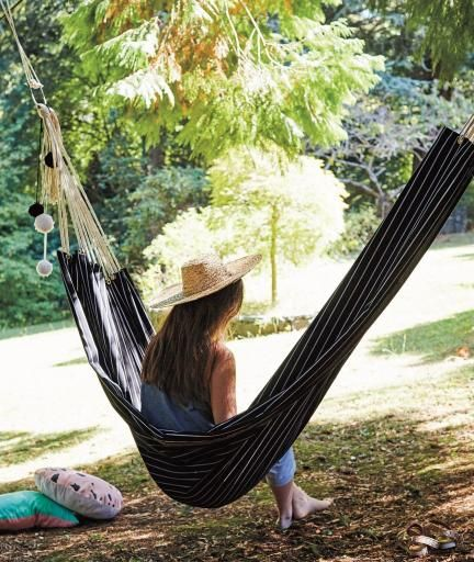 This Is the Trendiest DIY Hammock Ever