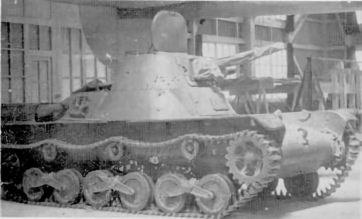 "日本戦車bot på Twitter: ""九八式軽戦車 ケニ 九五式軽戦車代替用の軽 ..."