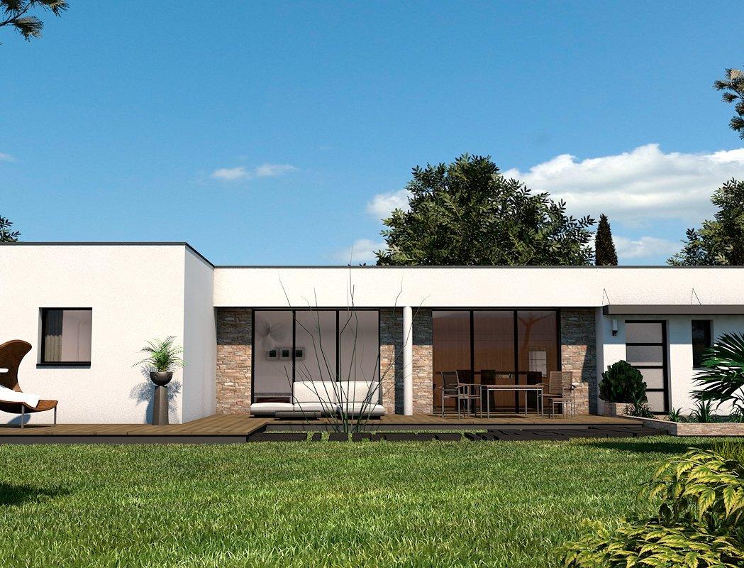 prix maison trecobat modle de maison tendance 4 m grce une extension bois une intrieure et une. Black Bedroom Furniture Sets. Home Design Ideas
