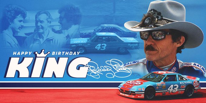 The King.  Remessage to wish Richard petty a happy 80th birthday!