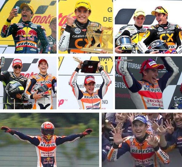 MotoGP: invincibile Marquez al GoPro Motorrad di Germania, Valentino quinto. Tutti i commenti post-gara