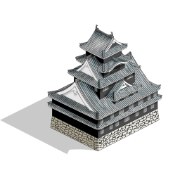刃連 じろう 木工介 久しぶりに作った 256 256サイズの岡山城風と広島城風天守アイコンのがなかなかの出来だったのでスエヒロのほうに新作としてアップロードしました T Co Xh29o2mxzg 吊籠屋八不用佑左衛門 岡山城 広島城 Windows