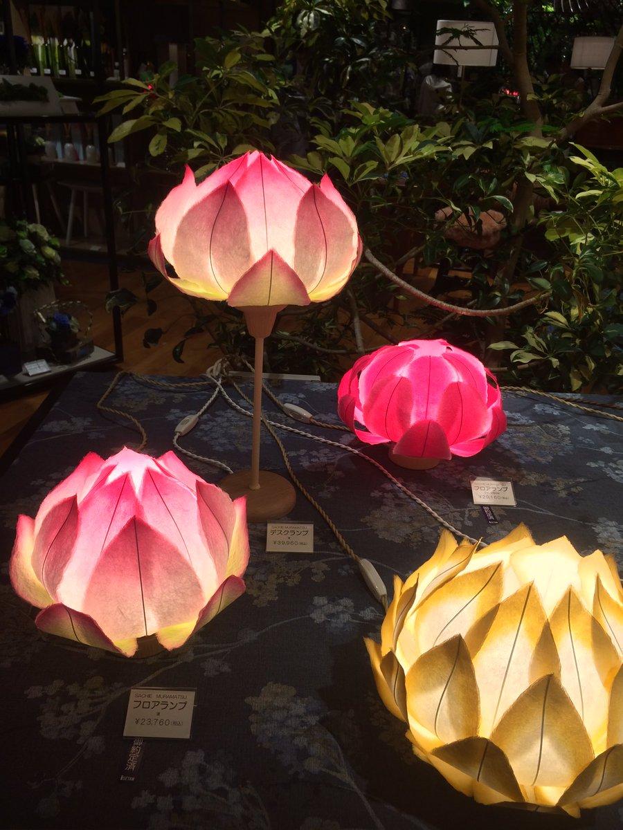 今回、伊勢丹をウロウロ物見遊山して一目惚れした蓮の花の灯り。作家さんがいらしたので制作方法や購入経路やオーダーの際の細々をお聞きした。欲しい。がんばろ。