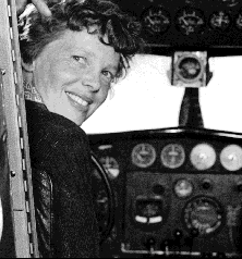 #OnThisDay 80 years ago #AmeliaEarhart disappears near #Howland #Island in the #Pacific attempting to #fly around the #world.<br>http://pic.twitter.com/Bm6eJKPr83