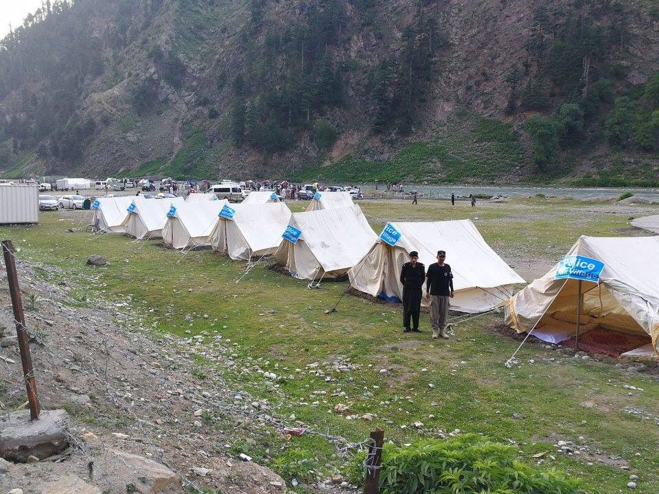 FREE-of-COST Tent Village established in Naran by KP Police for the Tourists #KPKUpdatespic.twitter.com/q8tJV7SL9F & KPK Updates on Twitter: