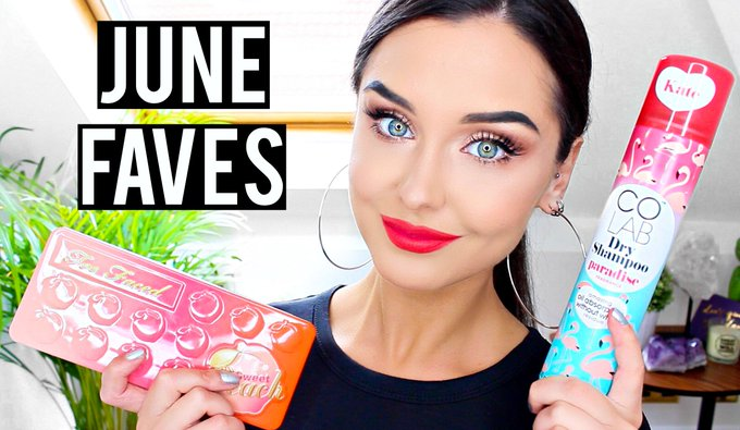 JUNE BEAUTY & MAKEUP FAVOURITES 2017